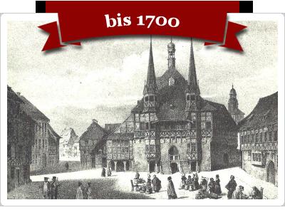 Fotos aus Wernigerode bis 1700