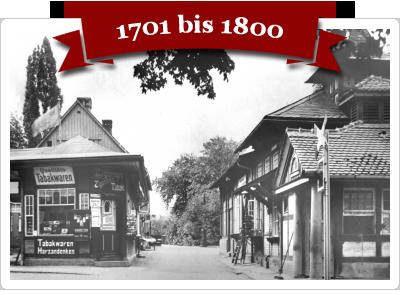 Fotos aus Wernigerode von 1701 bis 1800