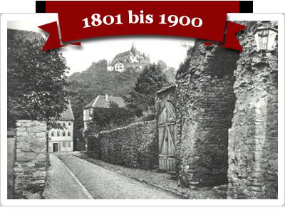 Fotos aus Wernigerode von 1801 bis 1900