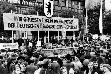 Großkundgebung auf dem Nico - Dieter Oemler