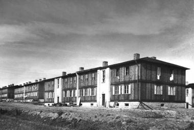 Behelfshäuser am Ziegenberg - Dieter Oemler