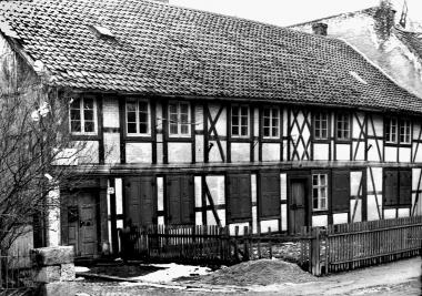 Das Kolonistenhaus Friedrichstraße 20 aus dem 18. Jahrhundert. - Dieter Oemler