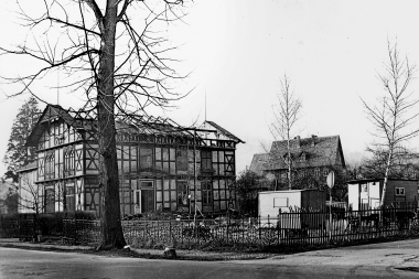 Fachwerkvilla an der Brückengasse - Dieter Oemler
