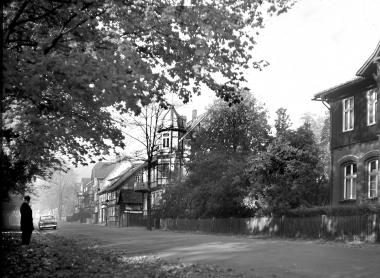 Blick in die Friedrichstraße1964 - Dieter Oemler