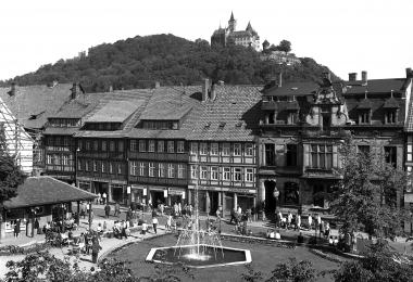 Blick auf den Nicolaiplatz - Dieter Oemler