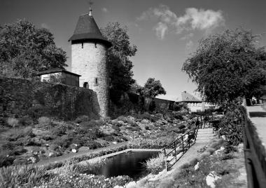 Stadtmauer und Wallgraben © Wolfgang Grothe