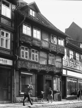 Behrendsches Haus in der Breiten Straße 1964 - Dieter Oemler