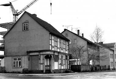 Häuserabriss an der Pfarrstraße - Dieter Oemler