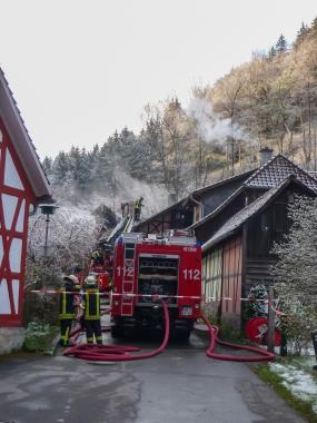 Einsatz der Feuerwehr im Voigtstieg - Marco Söchting