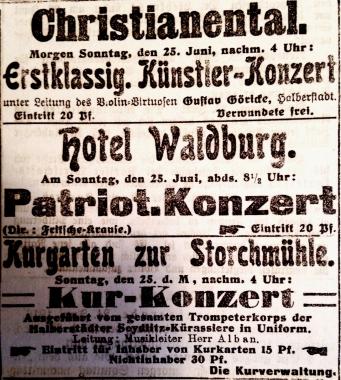 Patriotische Konzerte zur Aufrechterhaltung der Kriegsmoral © Wolfgang Grothe