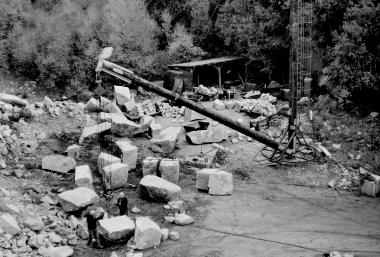 """Granit-Steinbruch am """"Trudenstein"""" - Dieter Oemler"""