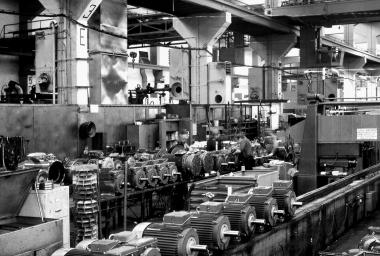 Produktion im Elektromotorenwerk - Dieter Oemler