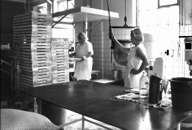"""Beschäftigte im VEB Schokoladenfabrik """"Argenta"""" in Hasserode - Dieter Oemler"""