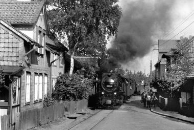 Harzquerbahn in der Kirchstraße - Dieter Oemler