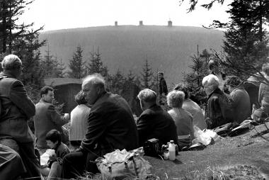 Wanderziel Zeternklippen - nach der Sperrung des Brockens 1961 der höchste zugängliche Punkt - Dieter Oemler