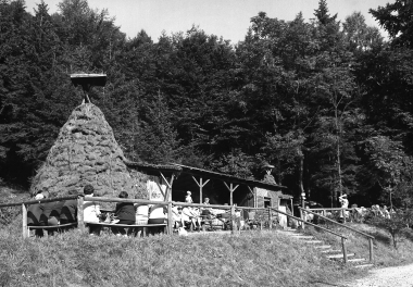 Köhlerhüttenanlage für Gäste und Einwohner im Eisergrund - Dieter Oemler