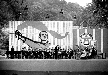 Konzert anläßlich der Arbeiterfestspiele im Lustgarten - Dieter Oemler