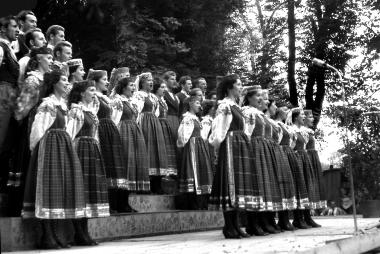 Konzert eines Chores aus der VolksrepublikPolen - Dieter Oemler