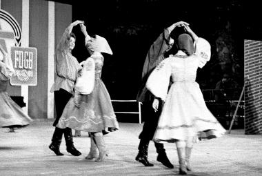 Sowjetisches Volkskunstensemble in Wernigerode zu den 3. Arbeiterfestspielen - d