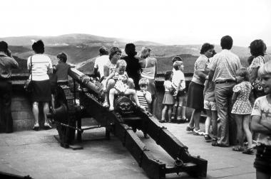 Blick von der Terrasse des Schlosses - Dieter Oemler