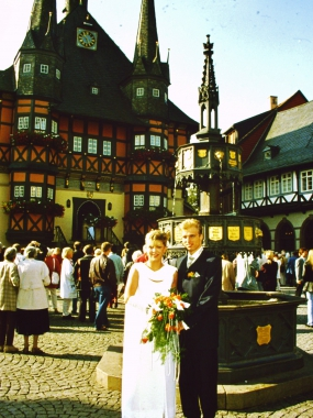 Eheschließung im Rathaus Wernigerode© Wolfgang Grothe