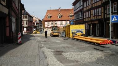 Beginn der Sanierung der Nöschenröder Straße © Wolfgang Grothe
