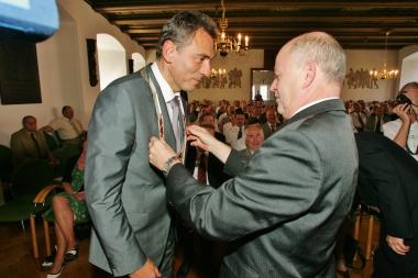 Peter Gaffert ist für die nächsten 7 Jahre Oberbürgermeister der Stadt Wernigerode. - Stadtverwaltung Wernigerode