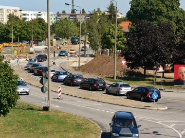 Bauarbeiten an der Einmündung Halberstädter Straße / Benzingeröder Straße - Stadtverwaltung Wernigerode