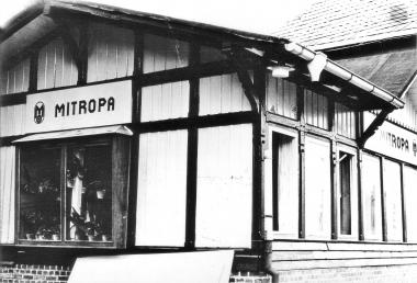 Mitropa-Gaststätte am Bahnhof Drei Annen-Hohne - Mahn-und Gedenkstätte Archiv