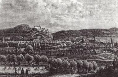 Wernigerode um 1855 - Frank Wiesner