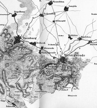 Stadt Wernigerode, zwei Flecken Ilsenburg und Nöschenrode und 13 Landgemeinden - Frank Wiesner