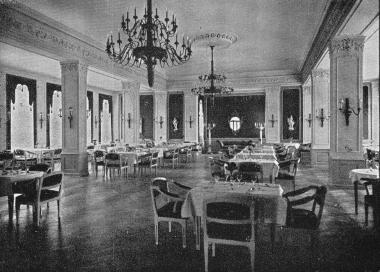 "Speisesaal im Kurhotel ""Barenberger Hof"" Schierke - Frank Wiesner"