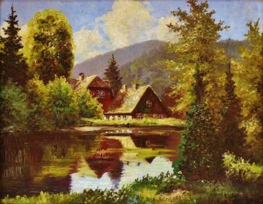"""Forsthaus """"Christianental"""", Wilhelm Pramme (1898-1965) - Harzmuseum Wernigerode"""