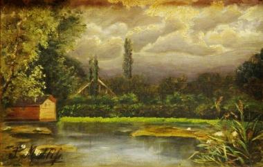 Kesselmühlenteich, T. Mehliss - Harzmuseum Wernigerode