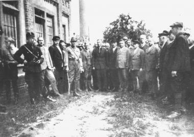 Verhaftung von Funktionären der SPD 1933 - Dieter Oemler
