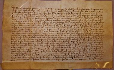 Bittgesuch an den Kurfürsten von Brandenburg um Schutz vor dem Grafen zu Stolberg. - Stadtarchiv Wernigerode