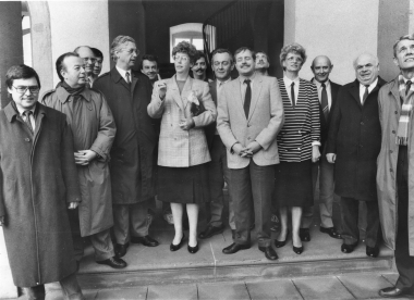 Empfang der ersten Delegation aus Wernigerode in Neustadt/Weinstraße - Neustadt an der Weinstraße Pressestelle