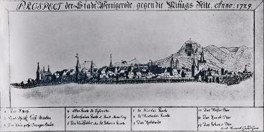 Wernigerode Anno 1729 - Harzbücherei