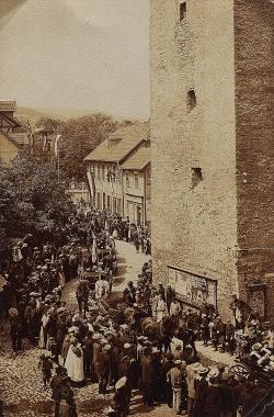 Westerntor von Südosten gesehen 1906 - Harzbücherei Wernigerode