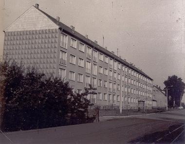 Neubauten in der Kantstraße - Harzbücherei Wernigerode