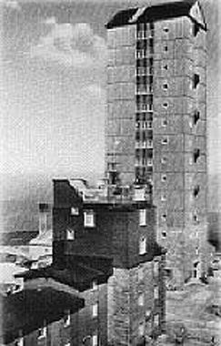 Sendeturm auf dem Brocken 1938 - Frank Wiesner