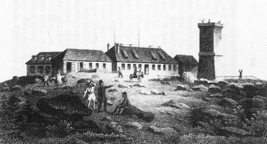 Brocken 18. Jahrhundert - Frank Wiesner