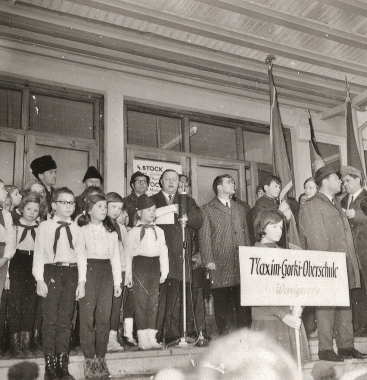Einweihung der Maxim-Gorki-Oberschule - Stadtarchiv Wernigerode (Archiv Dieter Möbius)