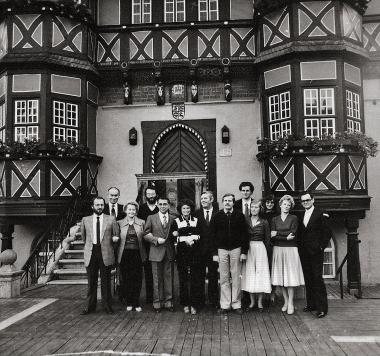 Delegation aus der Partnerstadt Carpi - Stadtarchiv Wernigerode (Archiv Dieter Möbius)