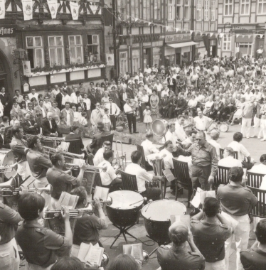 4. Rathausfest - Stadtarchiv Wernigerode (Archiv Dieter Möbius)