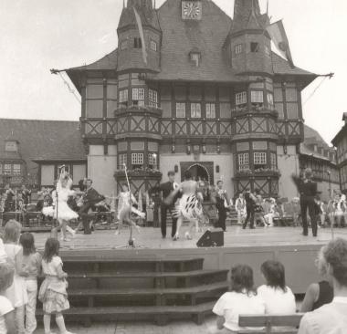 25. Rathausfest - Stadtarchiv Wernigerode (Archiv Dieter Möbius)