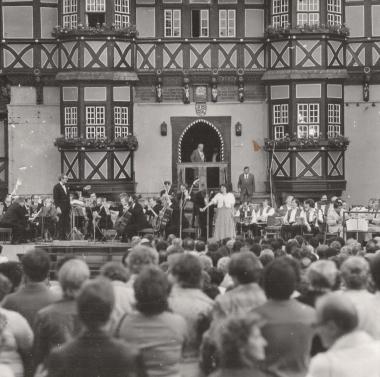 20. Rathausfest - Stadtarchiv Wernigerode (Archiv Dieter Möbius)