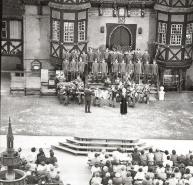 11. Rathausfest - Stadtarchiv Wernigerode (Archiv Dieter Möbius)