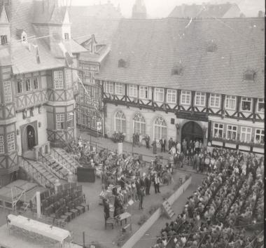 6. Rathausfest - Stadtarchiv Wernigerode (Archiv Dieter Möbius)
