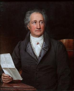 Johann Wolfgang Goethe, Stieler 1828 - Wikipedia